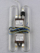 2 SMA 26.5 GHz Relays, Semi Rigid Coaxes and 14 dB 5 Watt Attenuator Assembly