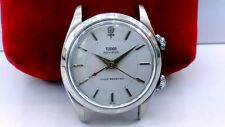 1960's VINTAGE ROLEX TUDOR ADVISOR ROSE DIAL ALARM REF.7926 MANUAL WINDING WATCH