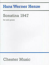 Hans Werner Henze Sonatina Learn to Play Piano Sheet Music Book