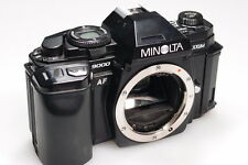MINOLTA MAXXUM 9000 35mm SLR CAMERA BODY FOR PARTS/FIX