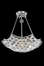 Palace Crown 8 Light Dining Crystal Chandelier  Light - Chrome