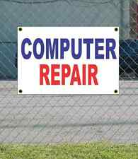 2x3 COMPUTER REPAIR Red White & Blue Banner Sign NEW Discount Size & Price