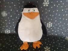 "DREAMWORKS MADAGASCAR Penguin Soft Plush Beanie Toy 13"" TALL"