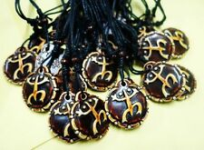 10 PCS Men Women Unique Taino Tribal Culture Lucky Frog Biker Embossed Necklace