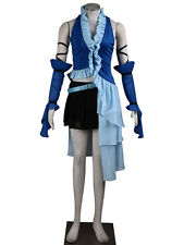 Final Fantasy X Cosplay Costume Yuna 3rd Diva Suit Any Size