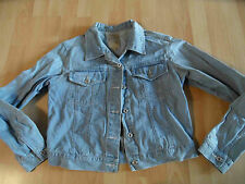SUTHERLAND coole helle Jeansjacke Gr. L TOP ZC1115