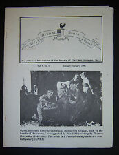 NORTH SOUTH MEDICAL TIMES Society of Civil War Surgeons 1996, No. 1 ONLY