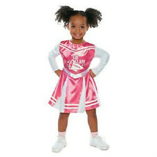 infant toddler pink CHEERLEADER Halloween costume NWT 12-24 months