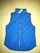 Sold Out J Crew Womens Excursion Blue Riveria Vest XS