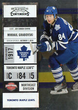 2011 PANINI PLAYOFF CONTENDERS HOCKEY MIKHAIL GRABOVSKI CARD NUMBERED /100