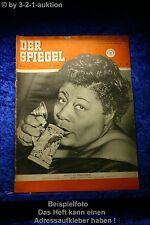 Der Spiegel 17/53 22.4.1953 Apollos Mädchen. Leute mögen mich: Ella Fitzgerald