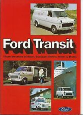 Ford Transit MK I Van Bus + Crewbus Chassis Cab 1975 Brochure Fold Out