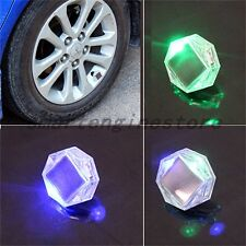 New Car Auto Solar LED Valve Lamp Solar Energy Flash Wheel Tire Valve Caps Light