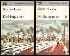 Lewis, Sinclair; Die Hauptstraße, 2 Bände, 1985, Reihe: TdW