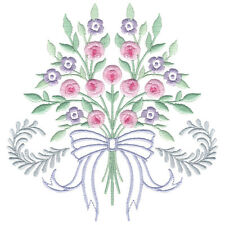 OESD Embroidery Machine Designs CD ENDEARING ROSE HEIRLOOM #12309