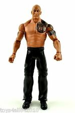 WWE the Rock MATTEL BASIC Wrestling FIGURE WWF Legend Shirtless Flashback- s66