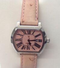Ladies Lancaster Italy watch. Stainless steel quartz wrist watch.