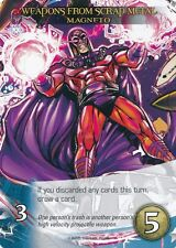 MAGNETO Upper Deck Marvel Legendary WEAPONS FROM SCRAP METAL