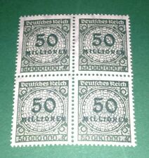 #081 * Germany * Inflation * 50.000.000 Mark * 1923 * Block of 4