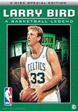 NBA - Larry Bird - A Basketball Legend DVD 2-Disc Set NEW SEALED + BONUS FEATURE