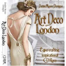 Debbi Moore Diseños Art decó Londres Manualidades con papel Inspiración CD Rom