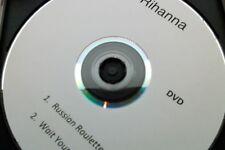 RIHANNA - RUSSIAN ROULETTE / WAIT YOUR TURN - Promo DVD Single - MINT!   cd