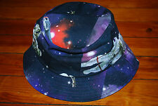 NEW Neff Spaceman Galaxy Outerspace Bucket Hat