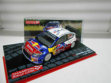CITROEN C4 WRC RALLY CARS 2009 S.LOEB EAGLEMOSS IXO 1/43