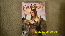 EverQuest II [DVD-ROM]  (PC, 2004) New With 30 Day Subscription!!!