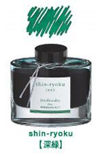 Pilot INK-50-SHR Iroshizuku Fountain Pen Ink Deep Green (shin-ryoku) 50ml Bottle