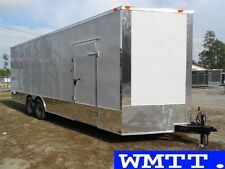 24' Commercial Duty trailer 2016 LOADED , Enclosed car hauler Freedom