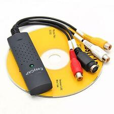 Hot Sale Easycap USB 2.0 Video Audio VHS to DVD Converter Capture Card Adapter F