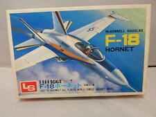 Vintage LS McDonnell Douglas F-18 Hornet  US Air Force ~ 1/144 ~ Sealed Contents