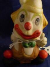 Vintage Porcelain Hand Painted Clown Unknown Date Figurine