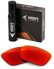 Polarized IKON Replacement Lenses For Von Zipper Fulton Sunglasses Red Mirror