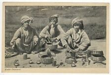 INDIA PC Postcard ASIA Asian INDIAN Snake Charmers CHARM Snakes