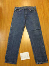 Vint levi's 505 regular fit REPAIRED Irregular tag 38x32 made in the USA 10956R