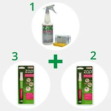 GREAT VALUE! EZ ZAP Eco Green Stain Remover Kit 96 oz & FREE SHIPPING! USA MADE