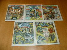 2000 AD Comic - 5 PROG JOB LOT - Progs 415 too 419 Inclusive - UK Paper Comic