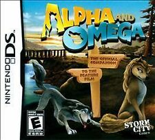 New Nintendo DS  Alpha and Omega Game Factory Sealed Video Wolves