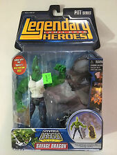 Legendary Comic Book Heroes Savage Dragon Figure 2007 Pitt Series Brand NEW Nice