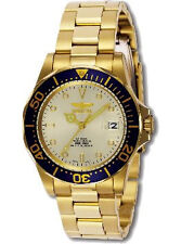 Invicta Pro Diver Champagne Dial Gold-plated Automatic Mens Watch 9743
