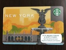 2015 NEW STARBUCKS NEW YORK NYC CENTRAL PARK GIFT CARD *IN HAND & RDY TO SHIP*