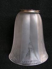 ancienne tulipe pour lustre ou lampe signée rené lalique art deco n°1
