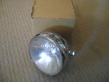 NOS 1960s CHROME CUSTOM HEADLIGHT CHOPPER JAMMER SPORTSTER TRIUMPH BSA