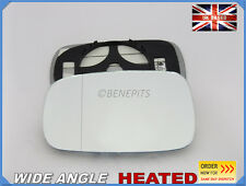 Wing Mirror Glass RENAULT CLIO MK3 2005-2008 Wide Angle HEATED Left Side #H022
