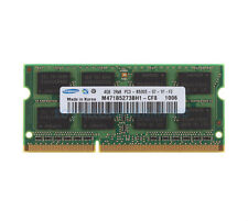 Samsung 4GB 2RX8 DDR3 1066MHz PC3-8500S 204Pin SO-DIMM RAM Intel Laptop Memory