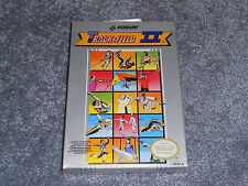 Track & and Field II 2  (Nintendo, 1989) NES H-seam BRAND NEW SEALED OLYMPICS