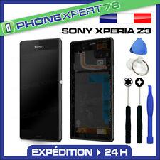 ÉCRAN LCD + VITRE TACTILE COMPLET ORIGINAL SONY XPERIA Z3 NOIR + OUTILS