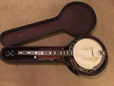 RARE Late 40's Gibson RB150 Bowtie 5 String Archtop Banjo & Original Case